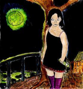 """Absinthe Moon"" By C. A. Brown"