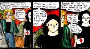 """Yametry Run - Episode 68 Redrawn"" By C. A. Brown"