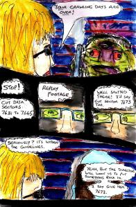 """""""Random Sci-fi Comic Page"""" By C. A. Brown"""