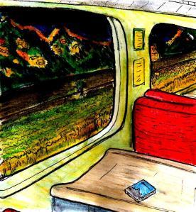 """""""Shrewsbury To Aberystwyth 2008"""" By C. A. Brown"""