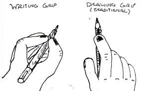 2014 Artwork Drawing Grips
