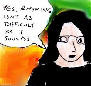 2014 Artwork Rhyming Poetry Article Sketch