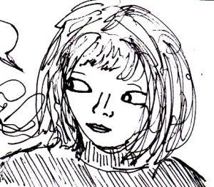"""Sous Les Etoiles (Sketch)"" By C. A. Brown"