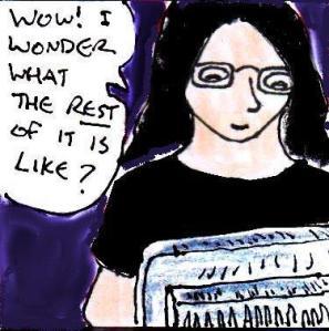 2014 Artwork Story Comic Fragments Sketch
