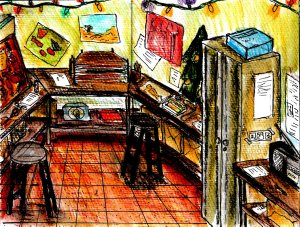 """""""Memories Of A Studio"""" By C. A. Brown"""