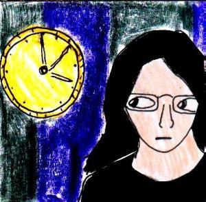 2014 Artwork Awkward Time Sketch