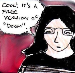 2014 Artwork Freedoom Review Sketch