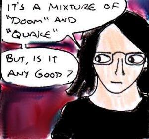 2014 Artwork Quakedoom review sketch