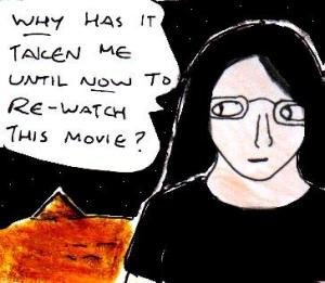 2014 Artwork Stargate movie review sketch