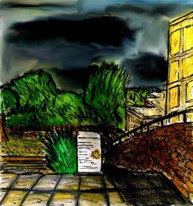 """Aberystwyth - Heart In The Dark"" By C. A. Brown"