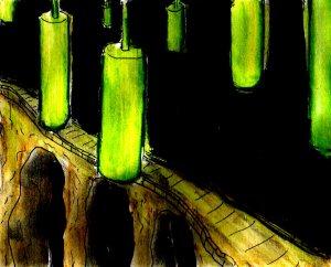 """Luminous Bridge"" By C. A. Brown"