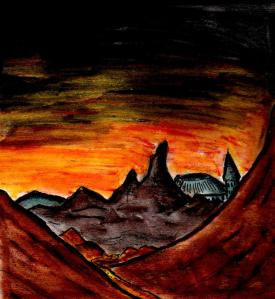 """""""Valley"""" By C. A. Brown"""