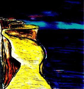 """""""Mountain Bridge"""" By C. A. Brown"""