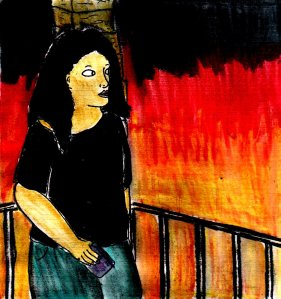 """""""Fire Balcony"""" By C. A. Brown"""