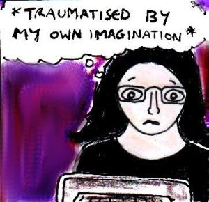 2014 Artwork Horror Imagination sketch