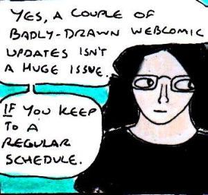 2014 Artwork Regular Updates Webcomic uninspired days sketch