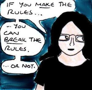 2014 Artwork Self imposed rules sketch