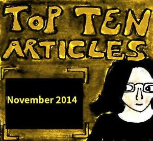 2014 Artwork Top Ten Articles November
