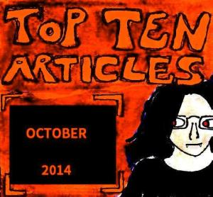 2014 Artwork Top Ten Articles October