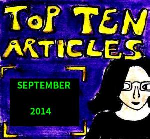 2014 Artwork Top Ten Articles September