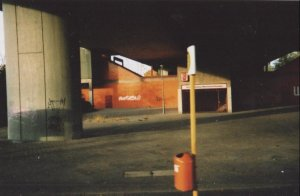 """Berlin Underpass 2004"" Photo By C. A. Brown"