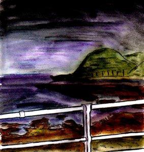 """""""Aberystwyth - Misty Coast"""" By C. A. Brown"""