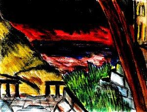 """Nightfall"" By C. A. Brown"