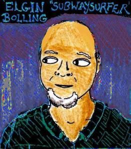 """""""Youtube Artists - Elgin 'Subwaysurfer' Bolling"""" By C. A. Brown"""