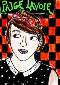 """""""Youtube Artists - Paige Lavoie"""" By C. A. Brown"""