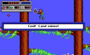 """Cool! Land Mines!"" ... Yeah, this game probably would be made these days...."
