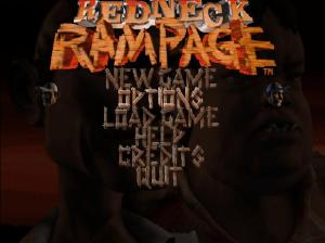 Redneck Rampage Title screen