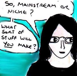 2015 Artwork Mainstream or Niche article sketch