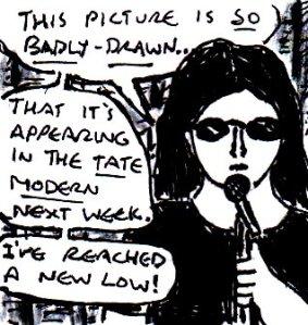 2015  Artwork Stand up comedy inspiration sketch