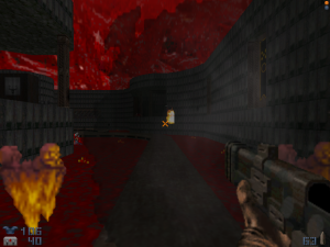 "Seriously, WHY wasn't this included in the original ""Doom"" games?"