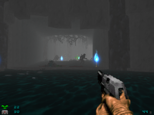 This isn't a screenshot of level two, it's actual gameplay footage!