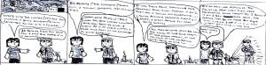 """This comic is titled """"Only The Good Die Young"""" and I made it in early-mid 2009 after reading that 3D Realms had closed down and that """"Duke Nukem Forever"""" would never be released. Luckily, or unluckily, this didn't turn out to be the case for long...."""