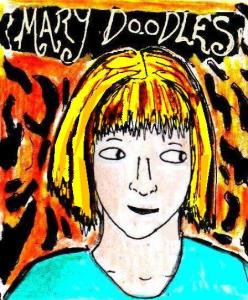 """Youtube Artists - Mary Doodles"" By C. A. Brown"
