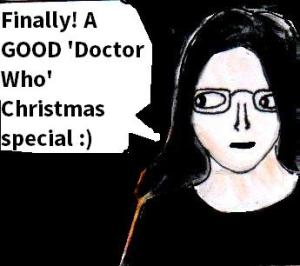 2015 Artwork doctor who last christmas review sketch