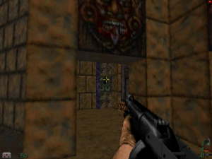 "Yes, it's a GOOD version of the shotgun from ""Duke Nukem 3D""!"