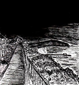 """Sandown At Dusk"" By C. A. Brown"