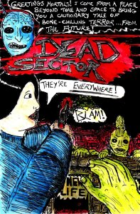 """Dead Sector - Cover"" By C. A. Brown"