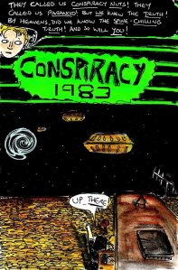 """Conspiracy 1983 - Cover"" By C. A. Brown"