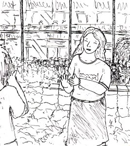 """Circa 2001 (Milton Keynes) - Lineart"" By C. A. Brown"
