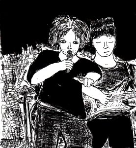 """""""Untitled Punk Drawing (improved version)"""" By C. A. Brown"""