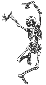 ( Public Domain skeleton image from wpclipart.com)