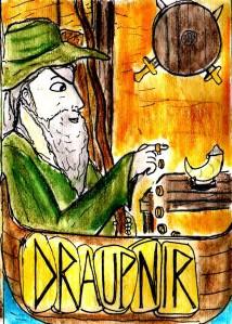 """""""Draupnir Card"""" By C. A. Brown"""