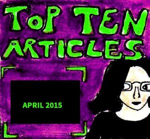 2015 Artwork Top Ten Articles April