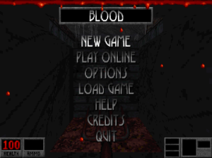 blood title screen