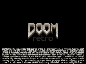 doom retro  title screen