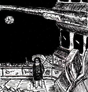 """Under A Broken Moon"" By C. A. Brown"